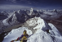 Pohľad z vrcholu...