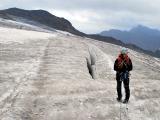 Na ľadovci v Alpách...