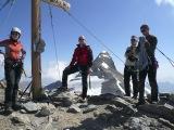 V Alpách, v pozadí Grosses Wiesbachhorn...