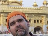 V Zlatom chráme v Amritsare - India...