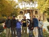 Palác Hasht Behesht v Esfaháne...