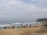 Juhoindické pláže arabského mora...