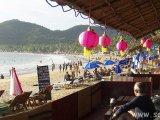 Občerstvenie na pláži...