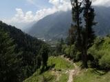 V okolí Manali - malebného himalájskeho mestečka....