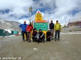 V sedle Chang la vo výške 5360 m...