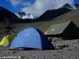 V base campe pod Stok Kangri...