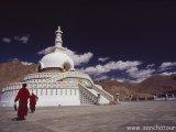 Shanti stupa v Lehu...