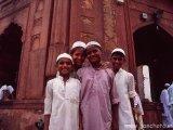 Piatková mešita v New Dílí...