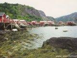 Rybárska dedinka Nusfjord...