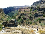 lahka turistika v NP Isalo