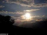 Večer nad himalájskym údolím...