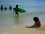 Na pláži...