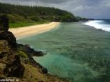 Najjužnejšie miesto ostrova pláž Gris Gris...