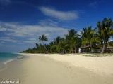 Poloostrov Le Morne s krásnymi bielymi plážami...