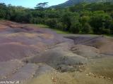 Sedem farieb zeme v Chamarel...