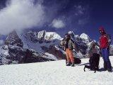Sedlo Mera La, 5400 metrov...