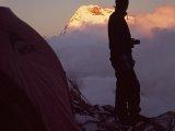Západ slnka v High Campe...