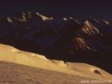 Východ slnka pri výstupe na vrchol...