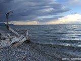 Priezračná voda v jazere Khubskuule...