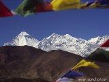 Pohľad na Dhaulagiri z Muktinathu...