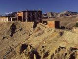 Tsarang, druhá najväčšia dedina Mustangu...