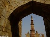 Qutub Minar - najvyšší minaret v Indii...