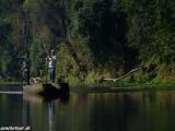 Ráno v NP Chitwan...