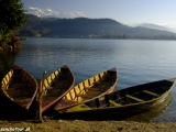 Ráno na jazere Fewa Lake...