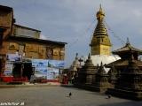 Na Swayabunathe - opičom chráme..