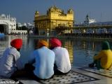 Podvečer v Zlatom chráme Amritsare I...
