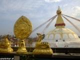 Budhistický chrám Budhanat v Káthmandú...