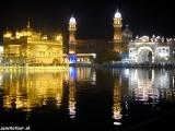 Podvečer v Zlatom chráme Amritsare III...