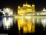 Podvečer v Zlatom chráme Amritsare IV...