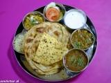 Thali - indické bryndzové halušky...