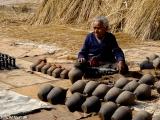 Námestie keramiky v kráľovskom meste Bhaktapur...