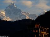 Machapuchare - Rybí chvost - posvätná hora Nepálcov...