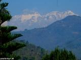 Annapurna II z autobusu...