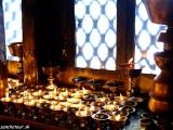V budhistickom chráme...