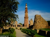 Qutub Minar najvyšší minaret v Indii...