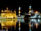 Zlatý chrám v noci...