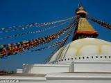 Kathmandu - budhistická stupa Budhanath...