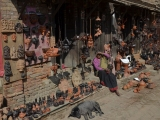 Kráľovské mesto Bhaktapur...