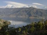 Himaláje nad Pokharou...