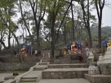 Nekonečné schody na Opičí chrám - Swayabunath...