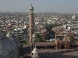 Pohľad z minaretu v Piatkovej mešite...