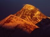 Západ slnka nad M.Everestom...