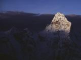 Ama Dablam pri výstupe na Island Peak...