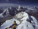 Pohľad pre bohov z vrcholu Island Peaku...