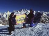 Na vrchole Mera Peaku...
