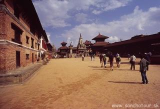 Kráľovské mesto Bhaktapur, zapísané na zozname UNESCO...